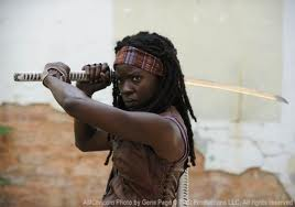 Michonne: because there's not enough pop culture references in this blog post yet.